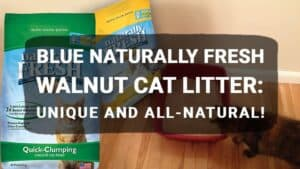 BLUE Naturally Fresh Walnut Cat Litter: Unique and All-Natural!