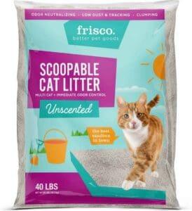 Frisco-Multi-Cat-Clumping-Cat-Litter