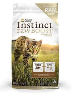 Nature's-Variety-Instinct-Raw-Boost-Grain-Free-Dry-Cat-Food