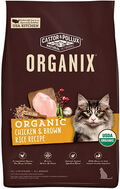 Castor and Pollux Organix Dry Cat Food: Chicken and Brown Rice Recipe