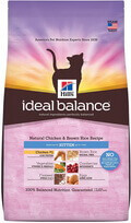 Hill's Ideal Balance Natural Cat Food: Chicken and Brown Rice