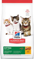 Hill's Science Diet Dry Cat Food For Kittens: Chicken Recipe